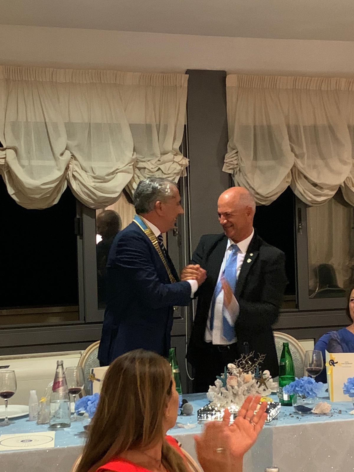 Antonello Rambotti nuovo presidente del Rotary
