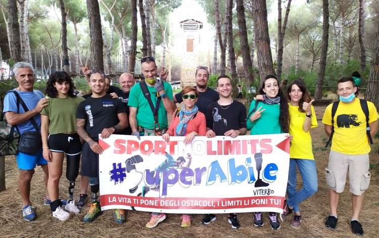 Superabile no limits al parco avventura di Tarquinia
