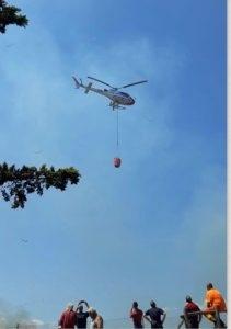 Incendio a Santa Severa nord: campo estivo messo in sicurezza