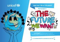 """Unicef lancia il sondaggio """"Il manifesto per il futuro"""""""
