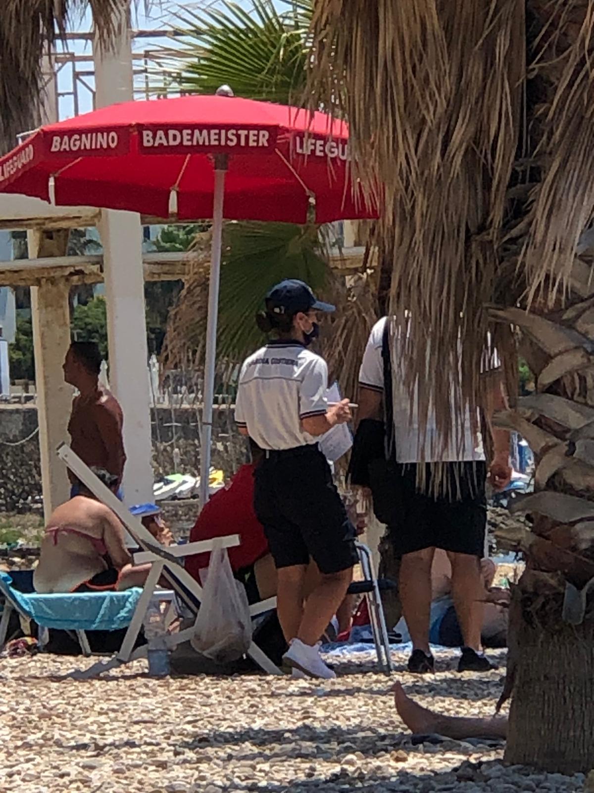 Guardia costiera, controlli dei militari sulle spiagge