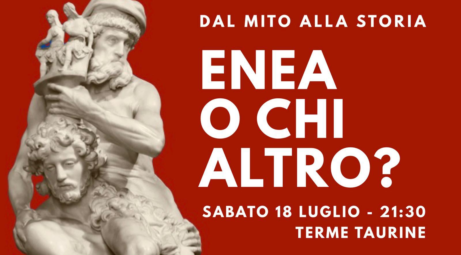 L'ENEIDE di scena sabato alle Terme di Traiano