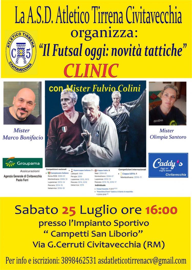 A Civitavecchia arriva Colini, il mostro sacro del futsal