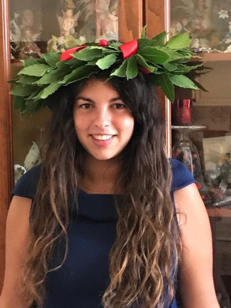 Civitavecchia: è Corinne Zambito la prima laureata in Economia circolare alla Unitus