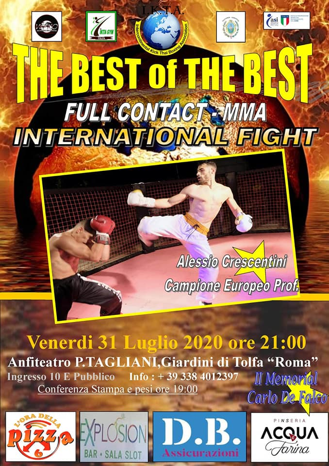 """In collina tutto pronto per """"The Best of the Best"""""""