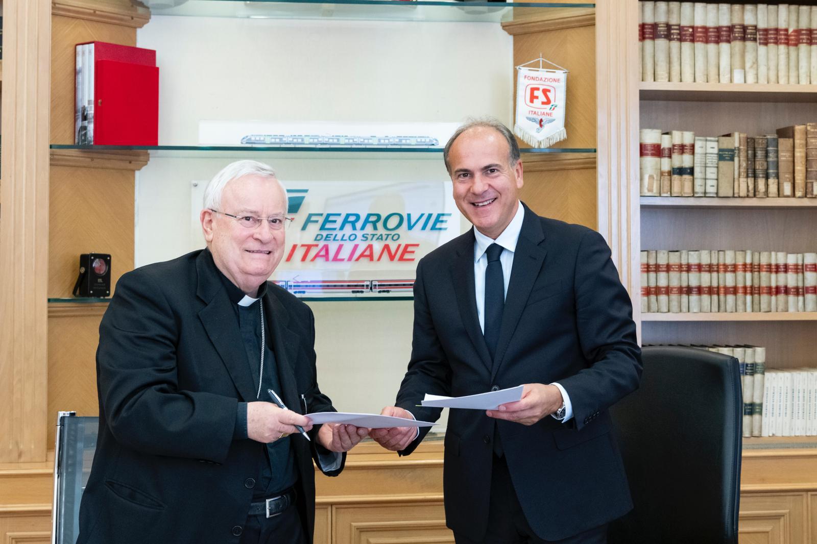 Convenzione Gruppo FS Italiane e CEI