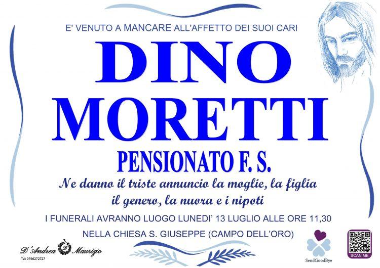 DINO MORETTI (PENSIONATO F.S.)