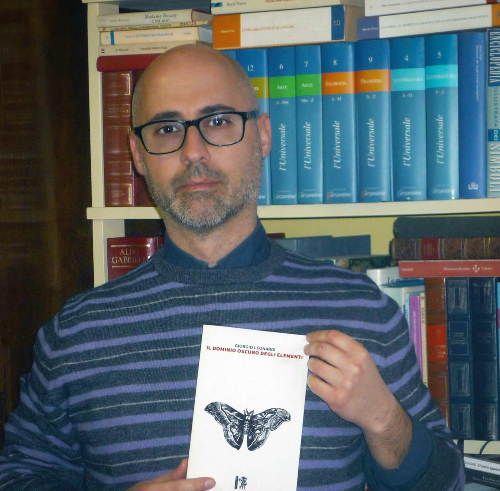 """""""Il dominio oscuro degli elementi"""", Leonardi presenta il suo ultimo libro"""