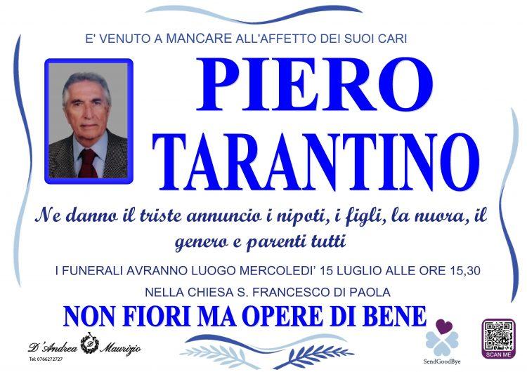 PIETRO TARANTINO