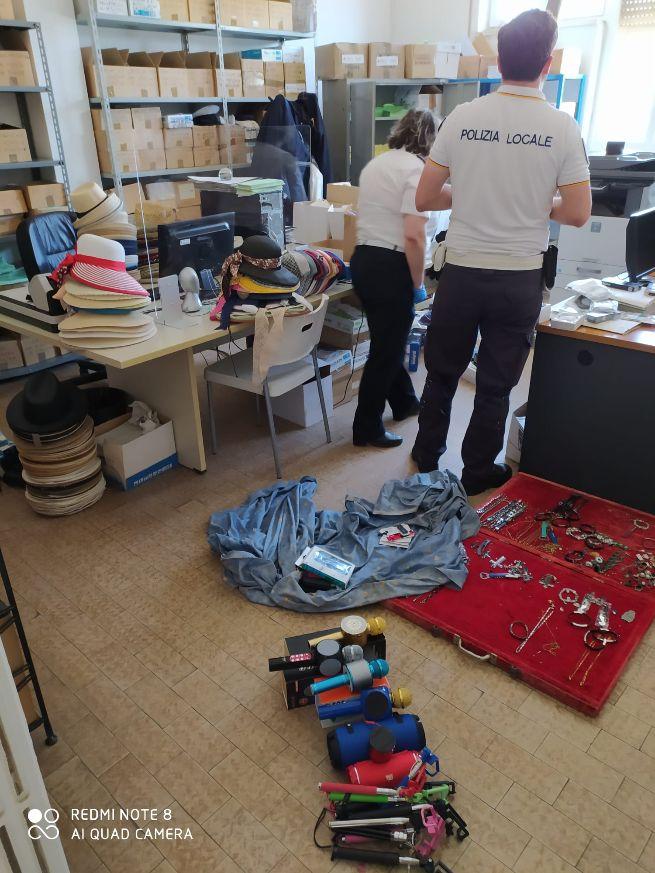 Polizia locale: operazione antiabusivismo