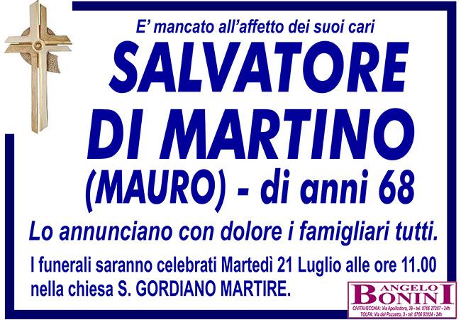 SALVATORE DI MARTINO (MAURO) di anni 68