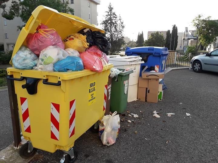 """Movimento civico: """"Città piena di immondizia"""""""