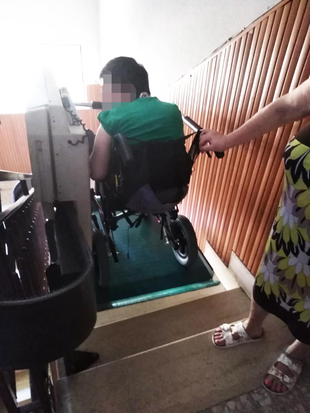 Disabile bloccata in casa da ferragosto a Campo dell'Oro