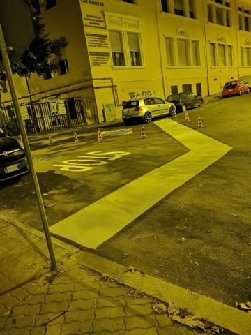 Prosegue la manutenzione ordinaria della segnaletica stradale