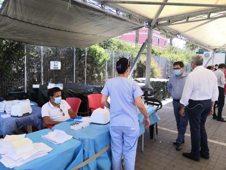 Covid, boom di casi a Civitavecchia