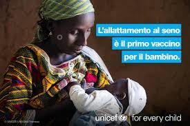 Unicef celebra la settimana mondiale dell'Allattamento
