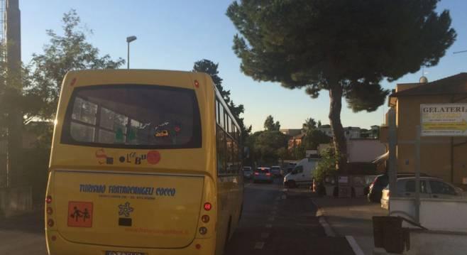 Al via il servizio di scuolabus