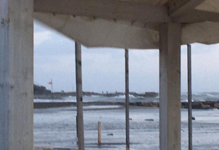 Maltempo, alta la guardia     su tutto il territorio     dopo la mareggiata