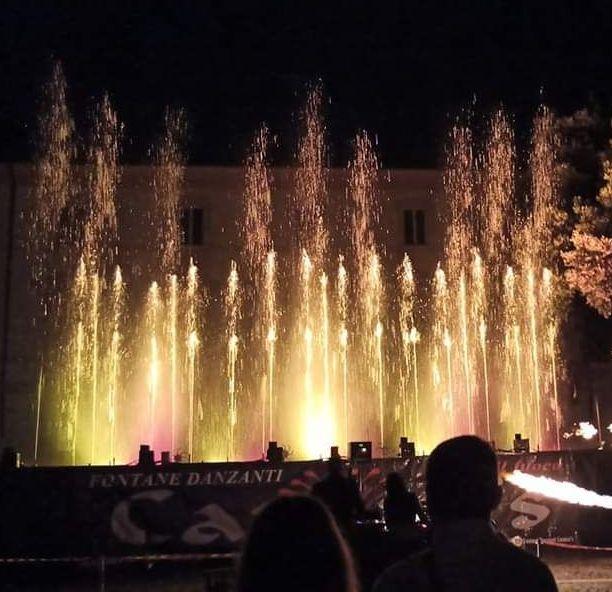 Le fontane danzanti protagoniste per la festa di Sant'Egidio