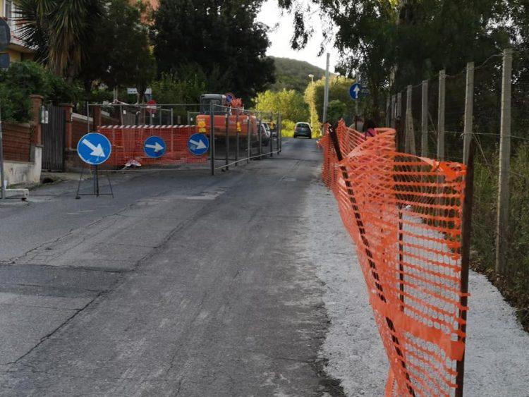 Via delle Colonie, lavori ancora bloccati