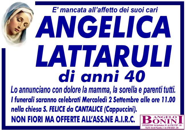 ANGELICA LATTARULI di anni 40