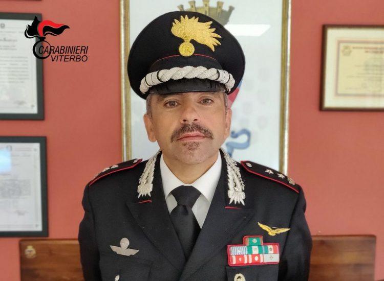 Carabinieri di Viterbo: cambio al comando delle compagnie di Tuscania e di Civita Castellana e alla stazione di Pescia Romana