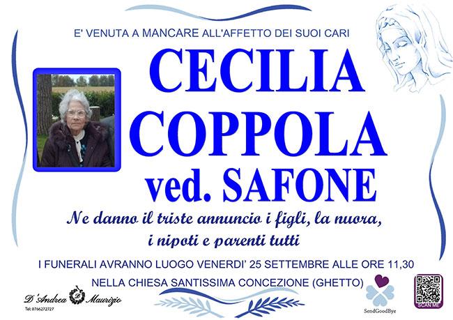 CECILIA COPPOLA ved. SAFONE