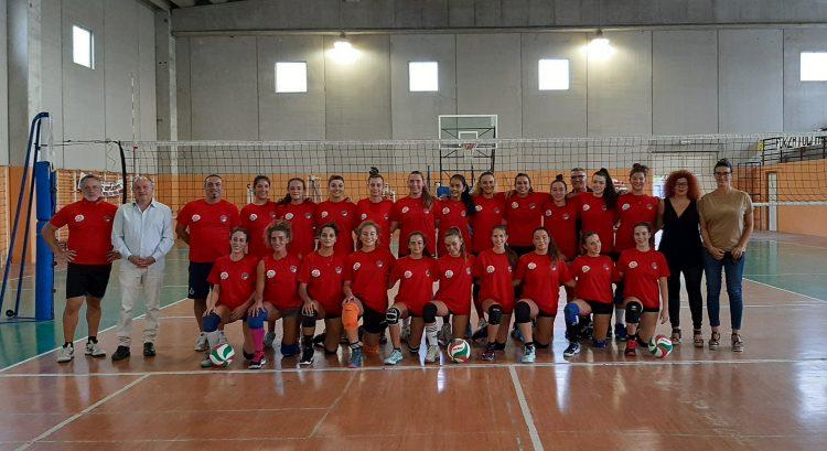 Cv Volley, la battuta di inizio stagione parte da Tolfa insieme al sindaco Landi