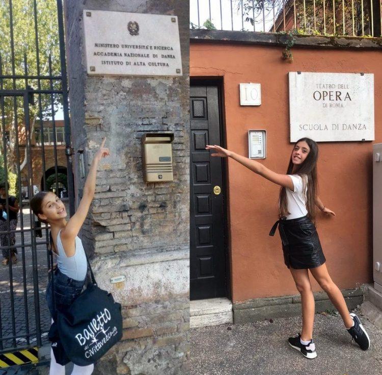 Balletto di Civitavecchia: Cristina Pasquetti all'Accademia Nazionale, Angelica Vannoli alla Scuola del Teatro dell'Opera di Roma