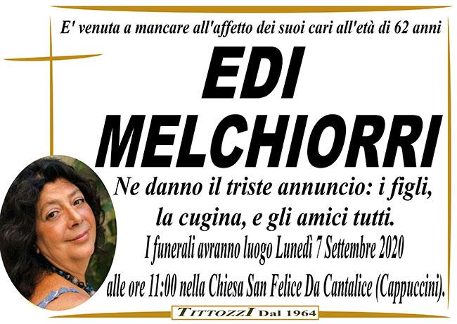 EDI MELCHIORRI