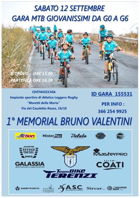 In città arriva il primo Memorial Bruno Valentini