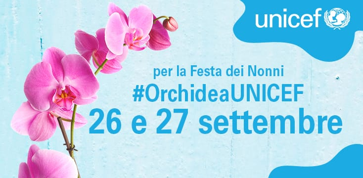 Torna l'orchidea Unicef