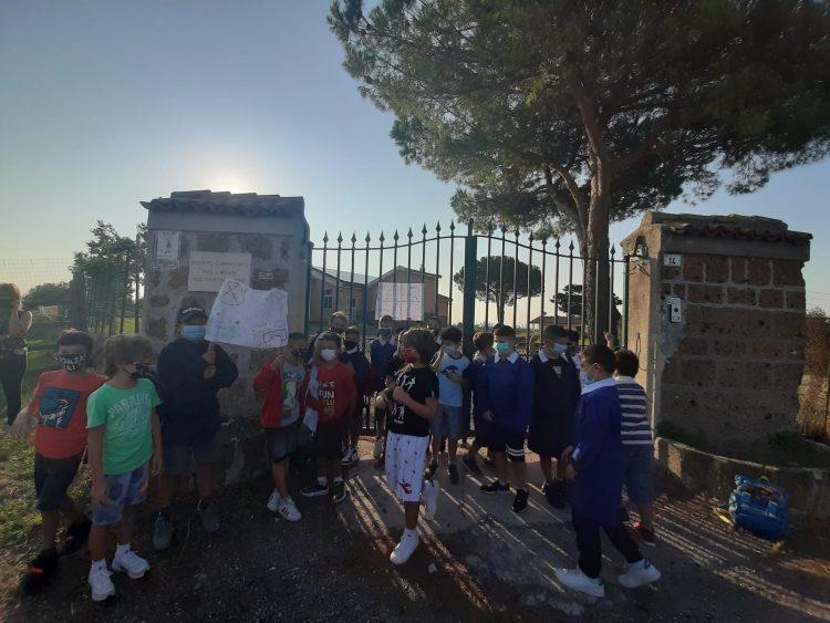 Cerveteri, tutti a scuola … ma non a Casetta Mattei