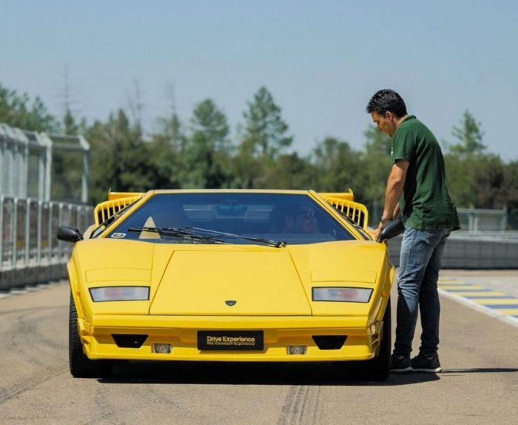 Tolfa protagonista in tv con lo speciale sulla Lamborghini     Countach costruita a mano da Gian Pietro Pasquali