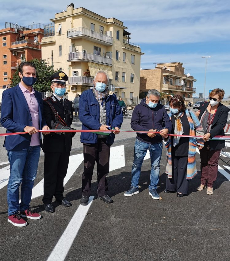 Passoscuro, inaugurato il nuovo parcheggio