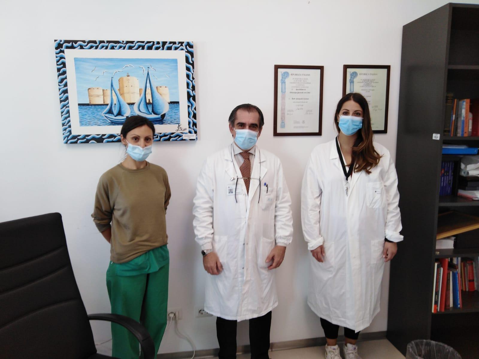 Il coronavirus non inganna la chirurgia del San Paolo