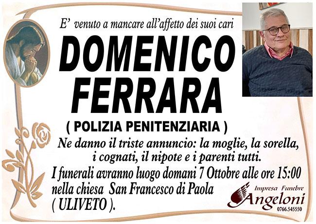 DOMENICO FERRARA (Polizia penitenziaria)