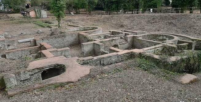 Prosegue a ritmo spedito l'opera di restauro delle Terme di Matidia
