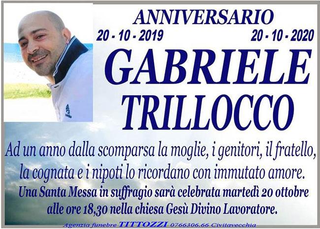 GABRIELE TRILLOCCO – Anniversario