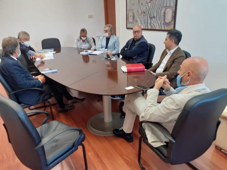 """Polo idrogeno verde, il sindaco riceve Agostinelli e De Santoli: """"Presto al lavoro su proposta operativa"""""""