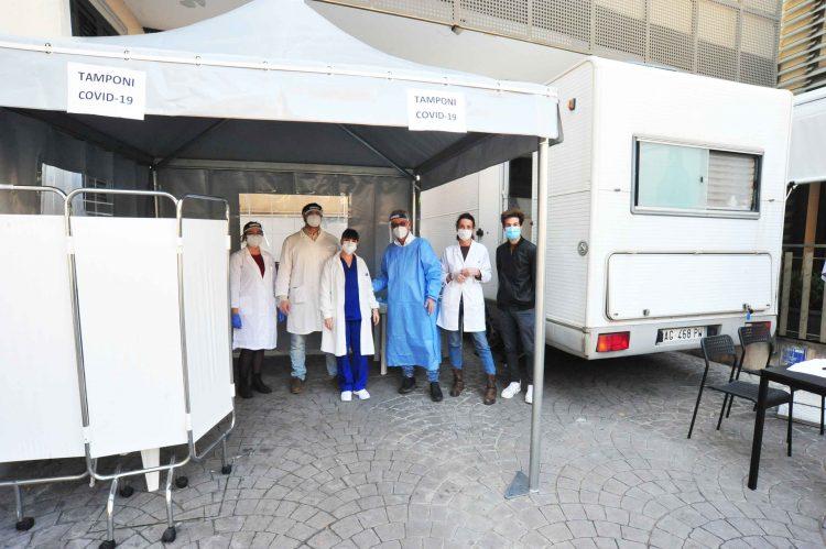 Centro diagnostico Buonarroti, 15 positivi su 167 tamponi