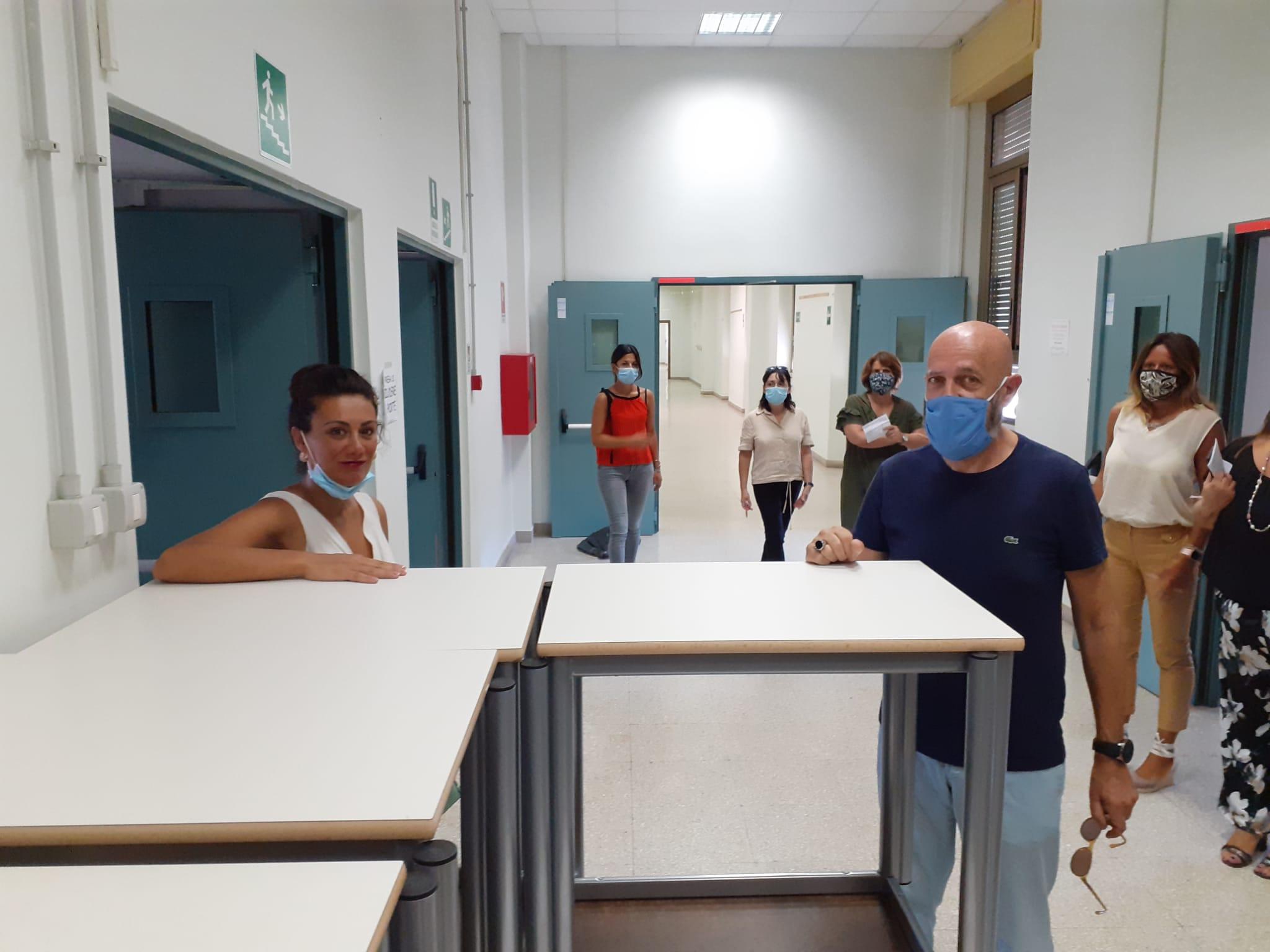 Scuole, il sindaco Tedesco e l'assessore Galizia scrivono al Governo