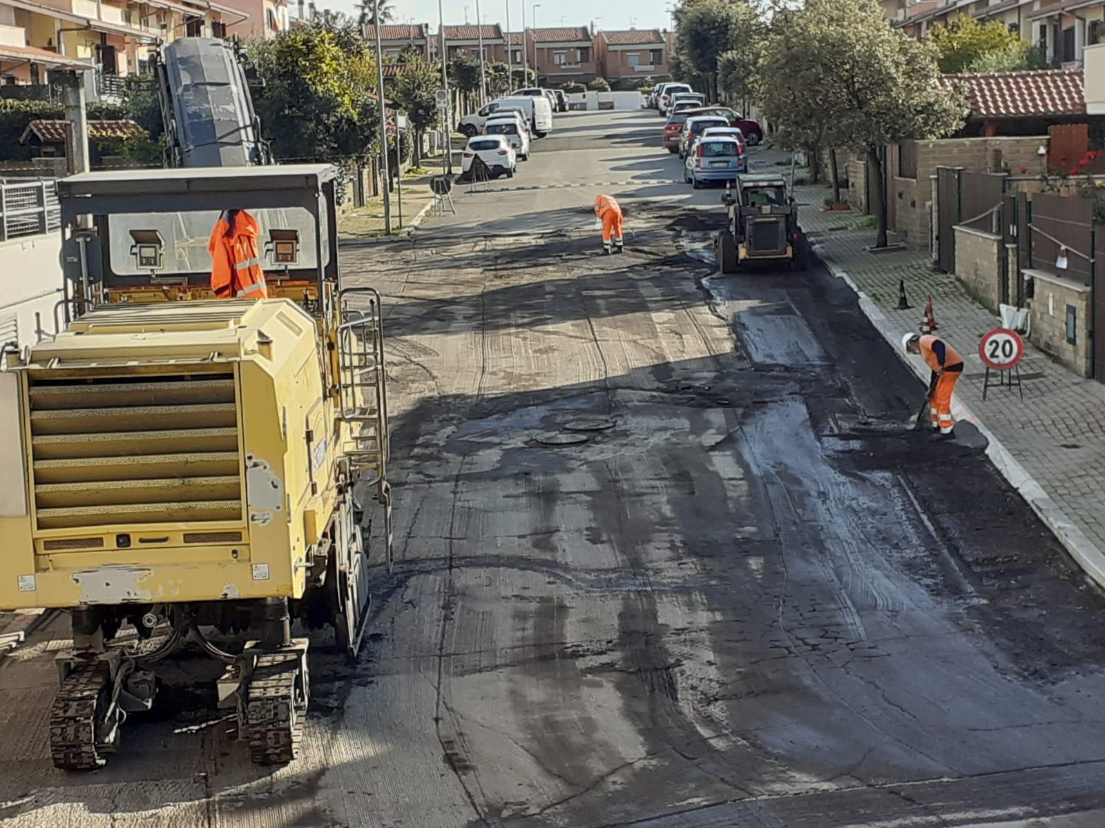 """Lavori pubblici, De Paolis: """"In corso riqualificazione delle strade al quartiere Boccelle"""""""