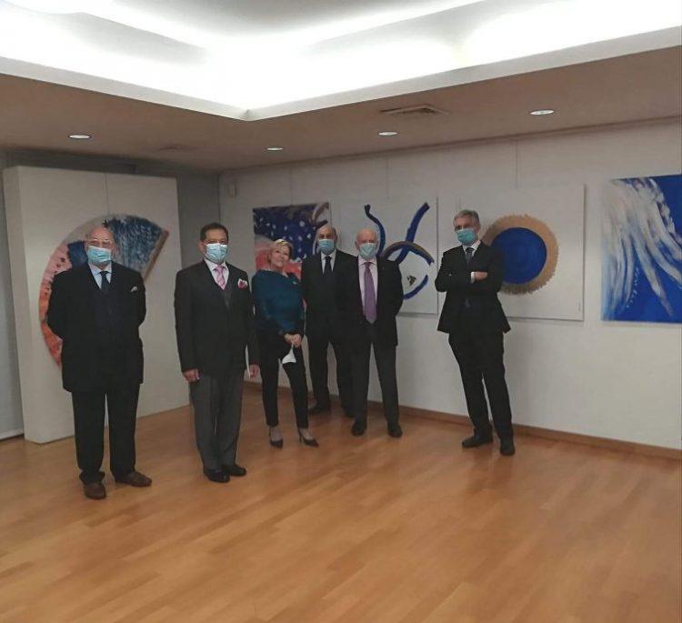Sguardo a Oriente, inaugurata la mostra dell'artista collinare Eugenia Serafini