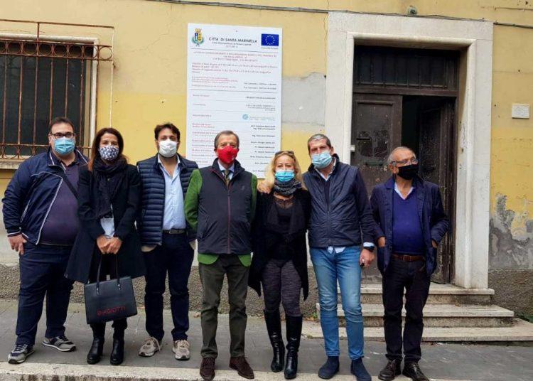 Santa Marinella, consegnati all'impresa vincitrice i lavori per la ristrutturazione della sede comunale di via della Libertà