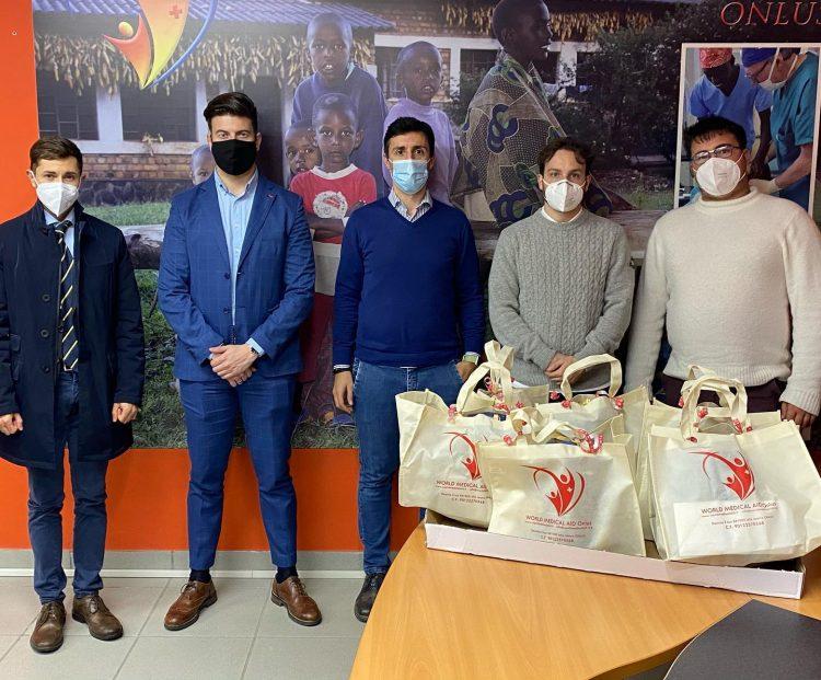 Il Rotaract Club di Civitavecchia sostiene World Medical Aid per la distribuzione di viveri