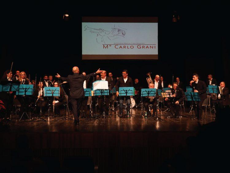 Note di Natale, il Corpo Bandistico M° Carlo Grani sul palcoscenico online per l'esibizione natalizia