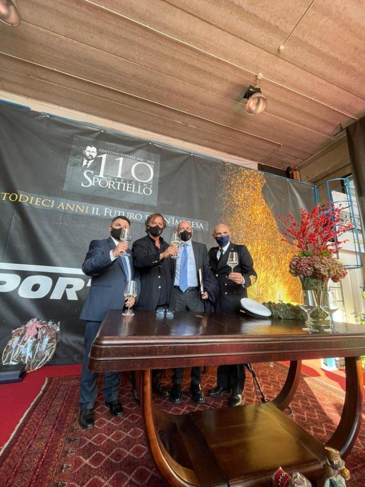 Sportiello festeggia 110 anni di lavoro portuale