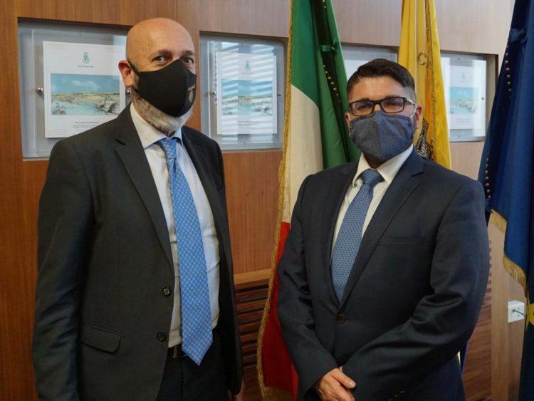 """Il Sindaco incontra il presidente Musolino: """"Città e porto devono marciare insieme per il rilancio"""""""