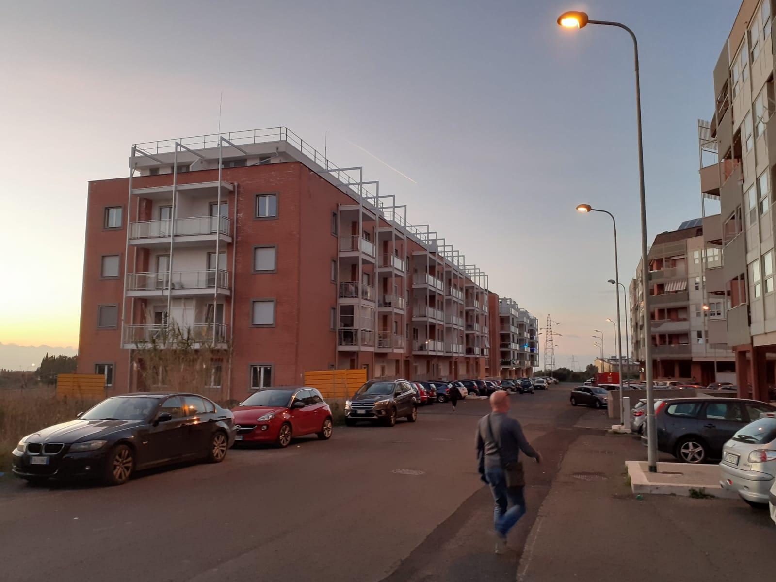 San Liborio, accesa l'illuminazione pubblica a via Falda